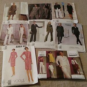 Lot of Vogue Patterns